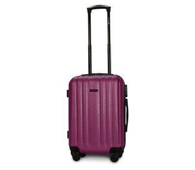 Пластиковый чемодан на колесах Fly 614 маленький фиолетовый