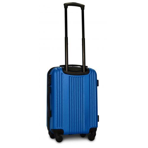 Пластиковый чемодан на колесах Fly 614 маленький морская волна
