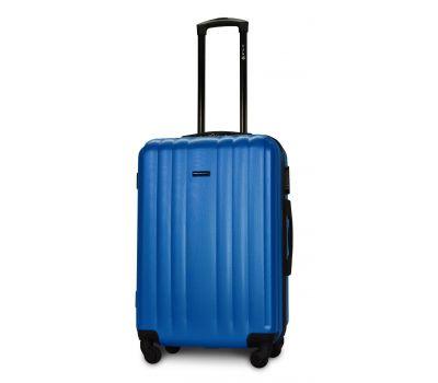 Пластиковый чемодан на колесах Fly 614 средний морская волна