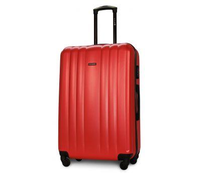 Пластиковый чемодан на колесах Fly 614 большой красный