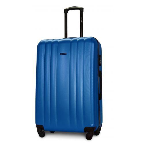 Набор пластиковых чемоданов на колесах Fly 614 4в1 морская волна