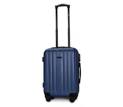 Пластиковый чемодан на колесах Fly 614 маленький синий