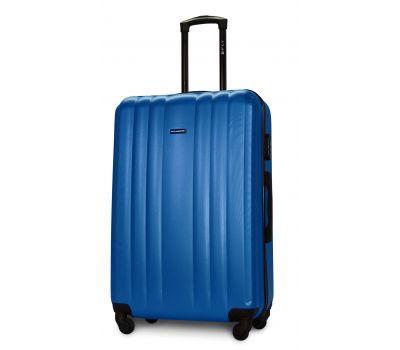 Пластиковый чемодан на колесах Fly 614 большой морская волна