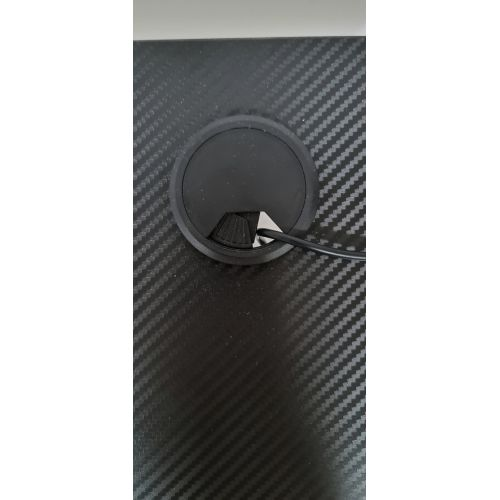 Компьютерный Игровой Стол для Геймеров AVKO AGT3001 Black LED подсветка