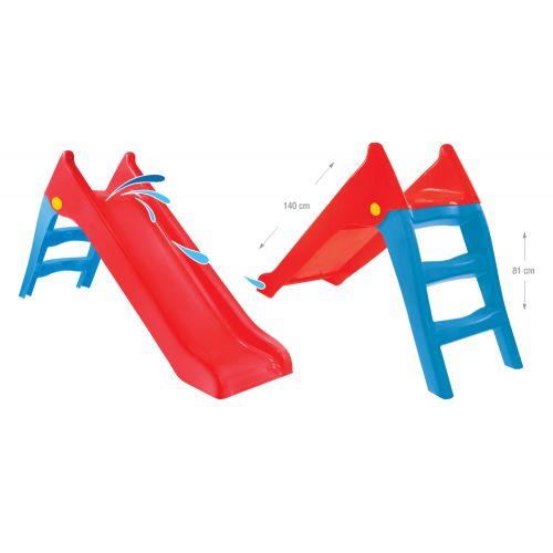 Горка спуск детская пластиковая Mochtoys 140 см 11965