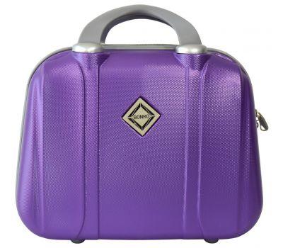 Дорожный кейс Bonro Smile средний фиолетовый
