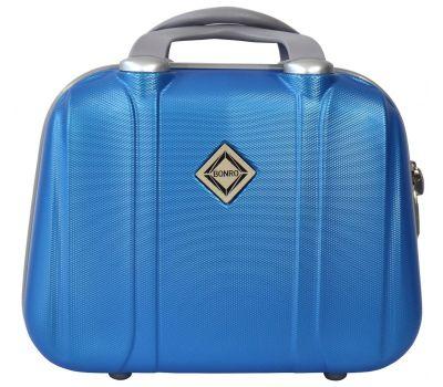 Дорожный кейс Bonro Smile большой голубой