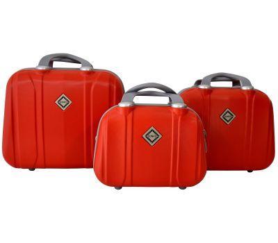 Набор дорожных кейсов Bonro Smile 3 штуки красный