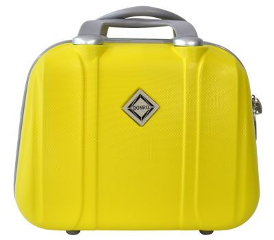 Дорожный кейс Bonro Smile большой желтый