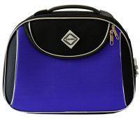 Дорожный кейс Bonro Style большой черно-фиолетовый
