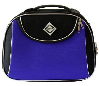 Дорожный кейс Bonro Style средний черно-фиолетовый