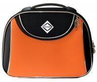 Дорожный кейс Bonro Style средний черно-оранжевый