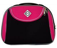 Дорожный кейс Bonro Style средний черно-розовый