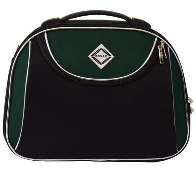 Дорожный кейс Bonro Style средний черно-зеленый