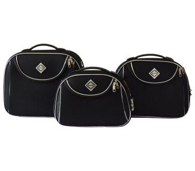 Набор дорожных кейсов Bonro Style 3 штуки черный