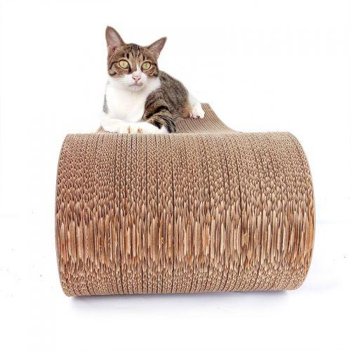 Когтеточка, дряпка - лежанка из картона для кошек Avko ACS015M