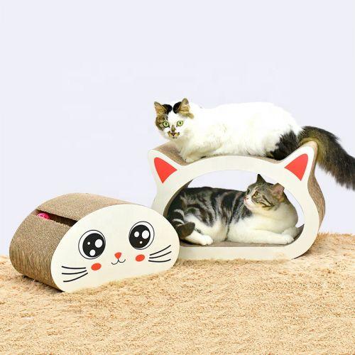 Когтеточка, дряпка - лежанка из картона для кошек Avko ACS013