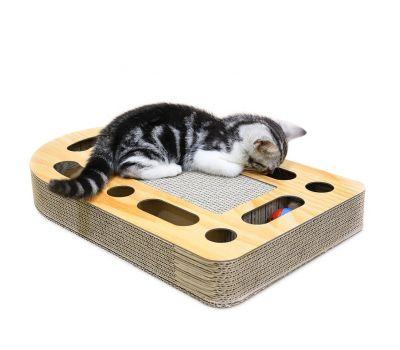 Когтеточка, дряпка - лежанка из картона для кошек Avko ACS017