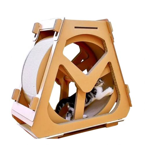 Когтеточка, дряпка - домик из картона для кошек Avko ACS023