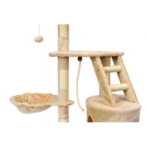 Когтеточка, домик, дряпка для кошек Avko Buffy 1607