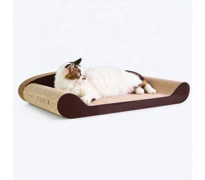 Когтеточка, дряпка - лежанка из картона для кошек Avko ACS014