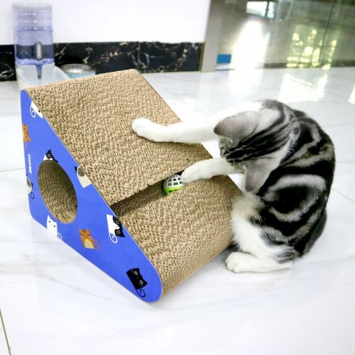 Когтеточка, дряпка - лежанка из картона для кошек Avko ACS016-BL