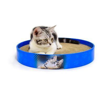 Когтеточка, дряпка - лежанка из картона для кошек Avko ACS019