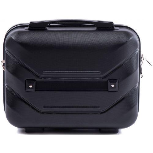Комплект чемодан и кейс Wings 147 маленький черный