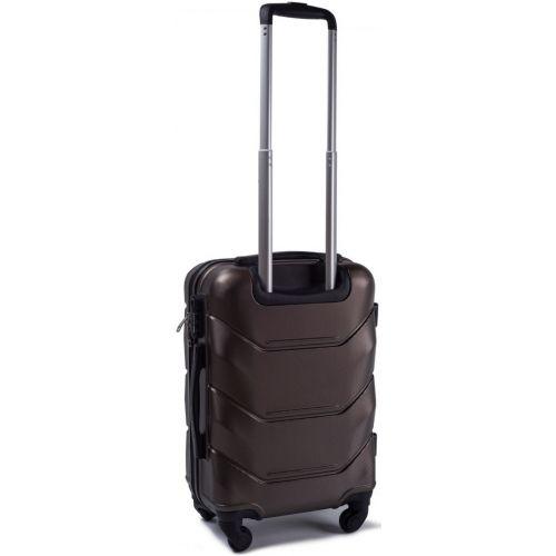 Комплект чемодан и кейс Wings 147 маленький кофейный