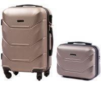 Комплект чемодан и кейс Wings 147 маленький шампань