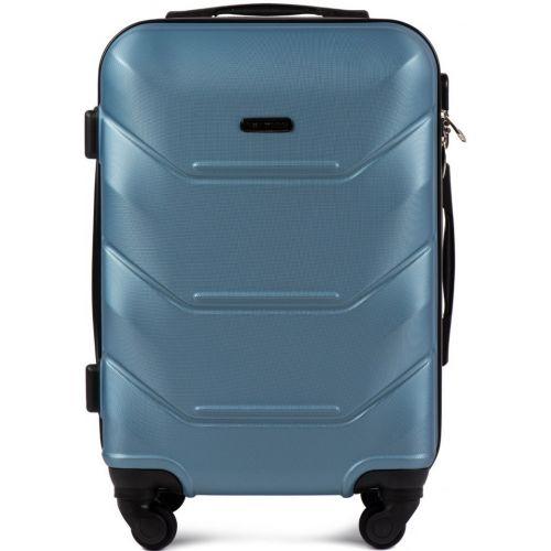 Комплект чемодан и кейс Wings 147 маленький синий