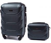 Комплект чемодан и кейс Wings 147 маленький изумрудный