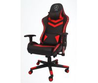 Кресло геймерское, компютерное Avko Style AG70660 Red RGB подсветка