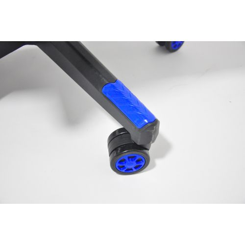 Кресло геймерское, компютерное Avko Style AG72810 Blue RGB подсветка