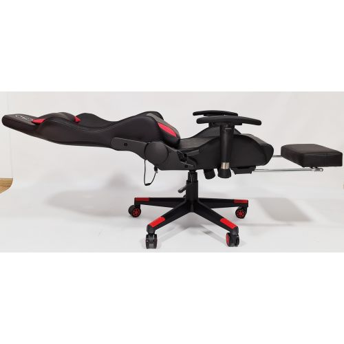 Кресло геймерское, компютерное Avko Style AG72820 Red RGB подсветка