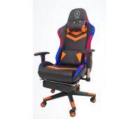 Кресло геймерское, компютерное Avko Style AG72840 Orange RGB подсветка