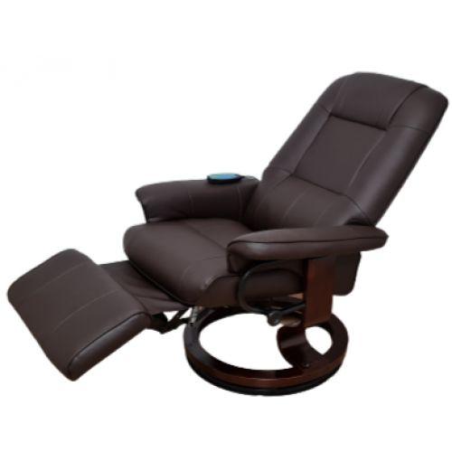 Кресло для отдыха Avko Style AR02 Brown с массажем и подогревом