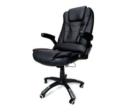 Кресло компьютерное, офисное AVKO Style АV01MH Black массаж/ подогрев