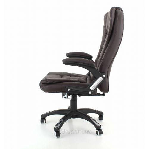 Кресло компьютерное, офисное AVKO Style АV02MH Brown массаж/ подогрев