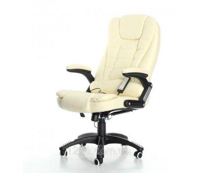 Кресло компьютерное, офисное AVKO Style АV03MH Beige массаж/ подогрев