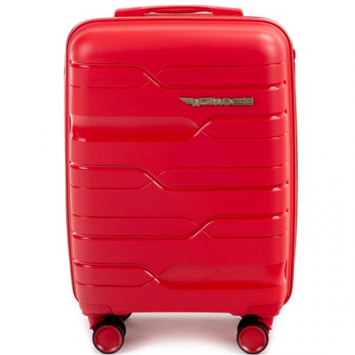 Полипропиленовый чемодан Wings Heron PP08 маленький красный