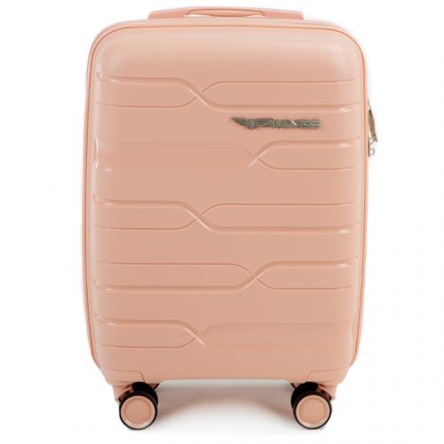 Полипропиленовый чемодан Wings Heron PP08 маленький пудровый