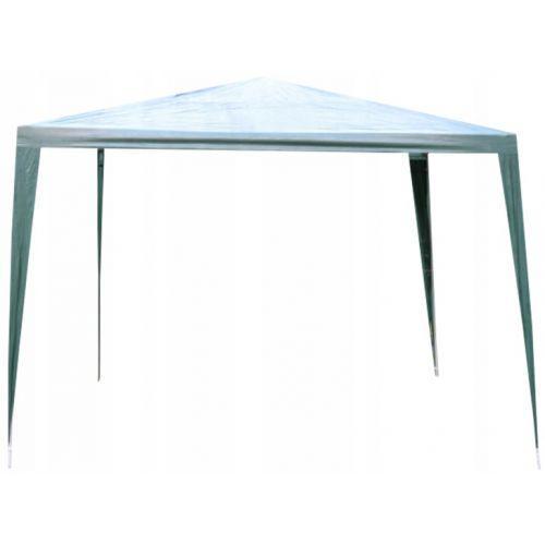 Садовый павильон шатер 3х3 м с 4 стенками + окна зеленый