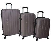 Набор чемоданов Siker Line 3 штуки какао