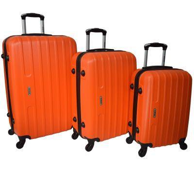 Набор чемоданов Siker Line 3 штуки оранжевый