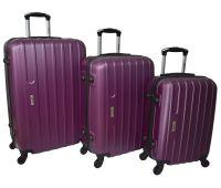 Набор чемоданов Siker Line 3 штуки сиреневый