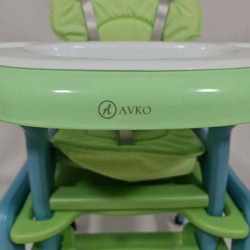 Стульчик, кресло для кормления AVKO AHC-223 Green/Blue