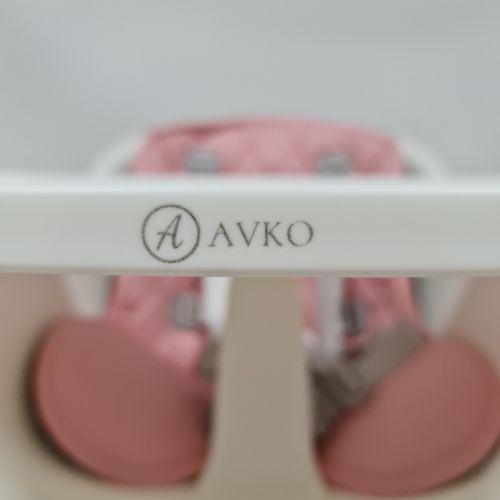 Стульчик для кормления AVKO AHC-423 Pink