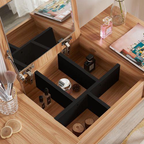 Туалетный столик + табурет AVKO ADT 003 Black