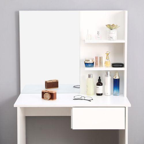 Туалетний столик + табурет AVKO ADT 005 White